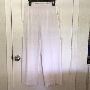 Super Slimmer white dress pants